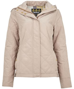 Women's Barbour Kingsbrough Quilted Jacket - Light Trench