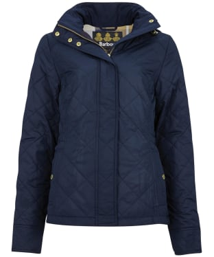 Women's Barbour Kingsbrough Quilted Jacket - Navy