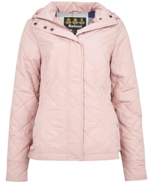 Women's Barbour Kingsbrough Quilted Jacket - Rose Tan