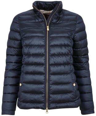 Women's Barbour Grange Quilted Jacket - Navy