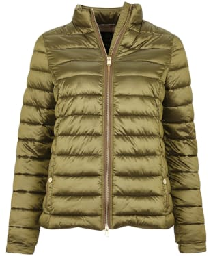 Women's Barbour Grange Quilted Jacket - Olive
