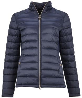 Women's Barbour Ashridge Quilted Jacket - Navy