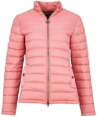 Women's Barbour Ashridge Quilted Jacket - Dusty Rose