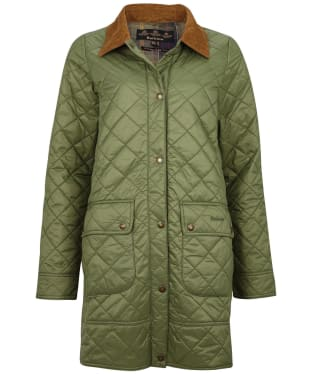 Women's Barbour Avebury Quilted Jacket - Bayleaf