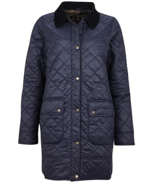 Women's Barbour Avebury Quilted Jacket - Navy