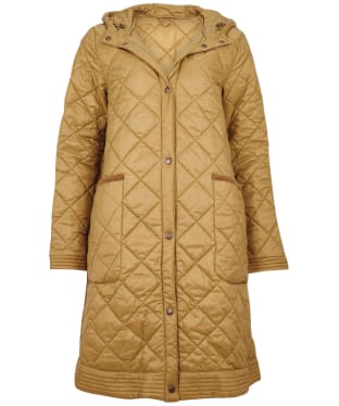 Women's Barbour Eugenie Quilted Jacket - Sand