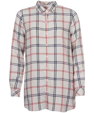 Women's Barbour Baymouth Shirt - Cloud Check