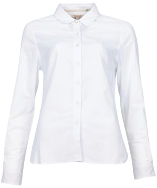 Women's Barbour Pearson Shirt - White