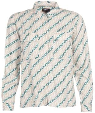 Women's Barbour Bellevue Print Shirt - Zinc