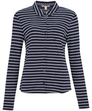 Women's Barbour Merseyside Shirt - Navy Stripe