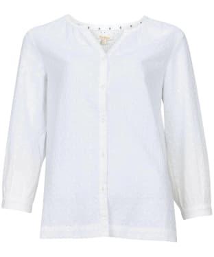 Women's Barbour Folkestone Shirt - White