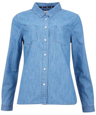 Women's Barbour Tynemouth Shirt - Authentic Wash
