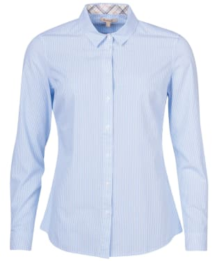 Women's Barbour Dorset Shirt - Blue / White