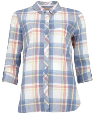 Women's Barbour Seaglow Shirt - Rosedawn Check
