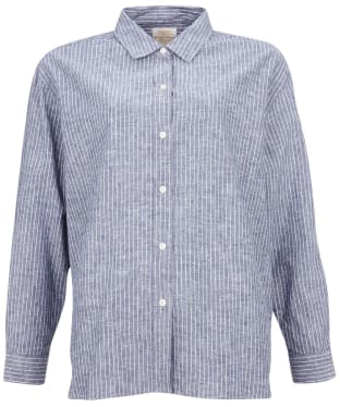 Women's Barbour Alexandra Shirt - Blue / White
