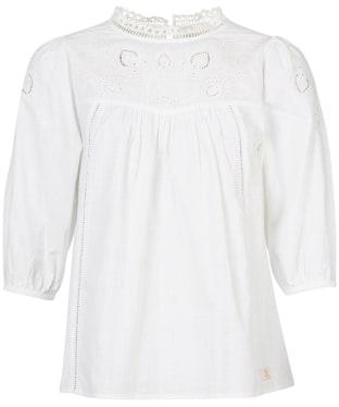 Women's Barbour Charlotte Shirt - White