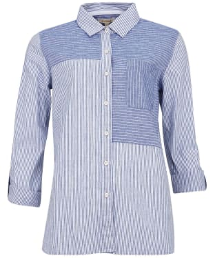 Women's Barbour Beachfront Shirt - Sky Blue