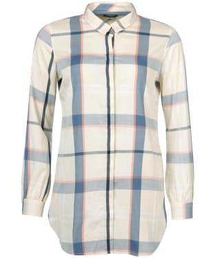 Women's Barbour Lothian Shirt - Blue Tartan