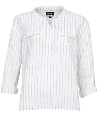 Women's Barbour Finstown Shirt - Cloud Stripe