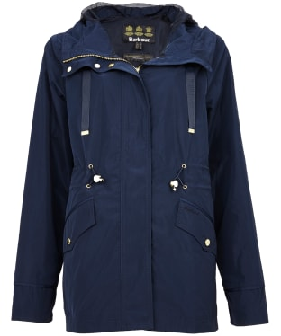 Women's Barbour Lothian Showerproof Jacket - Navy