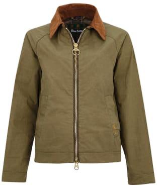 Women's Barbour Campbell Showerproof Jacket - Olive