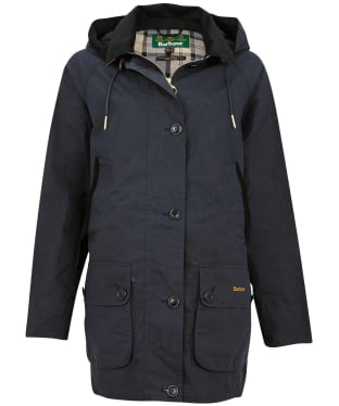 Women's Barbour Delevingne Showerproof Jacket - Navy