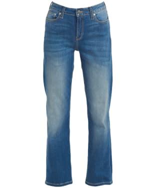 Women's Barbour Otterburn Straight Leg Jean - Authentic Wash