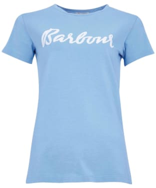 Women's Barbour Rebecca T-Shirt - Sky Blue