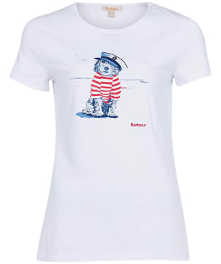 Women's Barbour Southport Tee - White