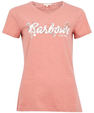 Women's Barbour Folkestone Tee - Rose Dawn