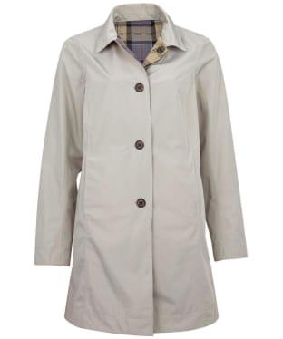 Women's Barbour x Sam Heughan Babbity Waterproof Jacket - Mist / Dress Tartan