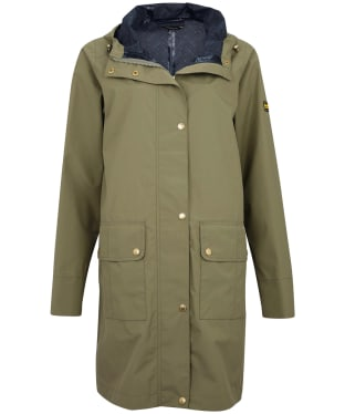 Women's Barbour International Pedal Waterproof Jacket - Lt Army Green