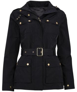 Women's Barbour International Pace Waterproof Jacket - Black