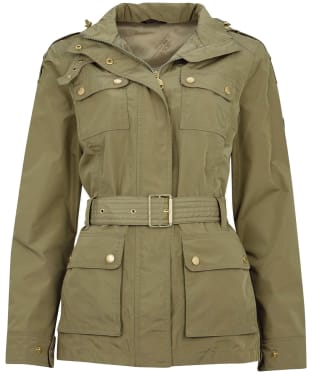 Women's Barbour International Pace Waterproof Jacket - Lt Army Green