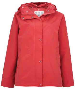 Women's Barbour Salcombe Jacket - Ocean Red