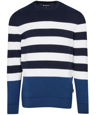 Men's Barbour Copinsay Crew Sweater - Navy