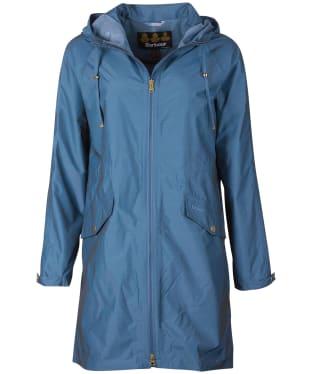 Women's Barbour Dryden Waterproof Jacket - China Blue