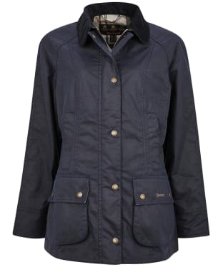 Women's Barbour Aintree Wax Jacket - Royal Navy