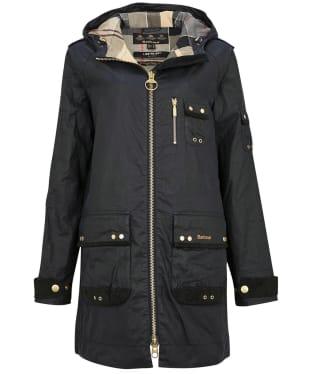 Women's Barbour Lennox Wax Jacket - Royal Navy