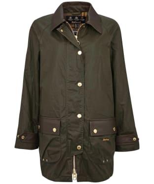 Women's Barbour Winslet Wax Jacket - Archive Olive