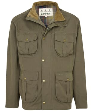 Men's Barbour Sanderling Casual Jacket - Fern