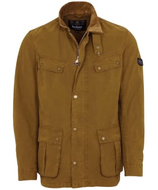 Men's Barbour International Summer Wash Duke Casual Jacket - Green