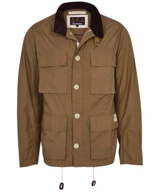 Men's Barbour Flyn Casual Jacket - Stone