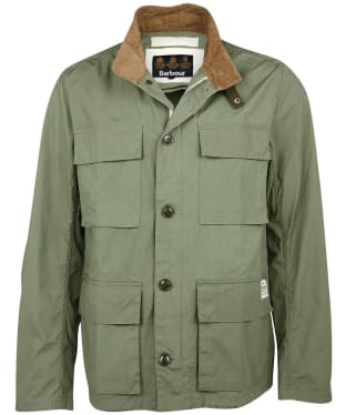 Men's Barbour Flyn Casual Jacket - Light Moss