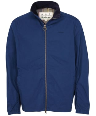 Men's Barbour Burden Casual Jacket - Navy