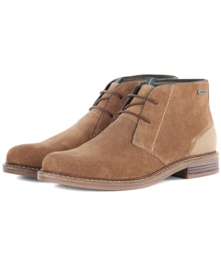 Men's Barbour Readhead Suede Chukka Boots - Sand