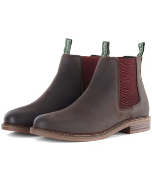 Men's Barbour Farsley Chelsea Boots - Chocolate