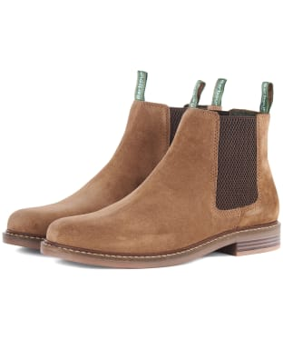 Men's Barbour Farsley Chelsea Boots - Sand