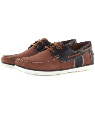 Men's Barbour Capstan Boat Shoes - Brandy