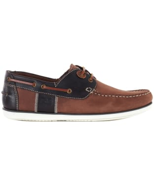 Men's Barbour Capstan Boat Shoes - Brandy
